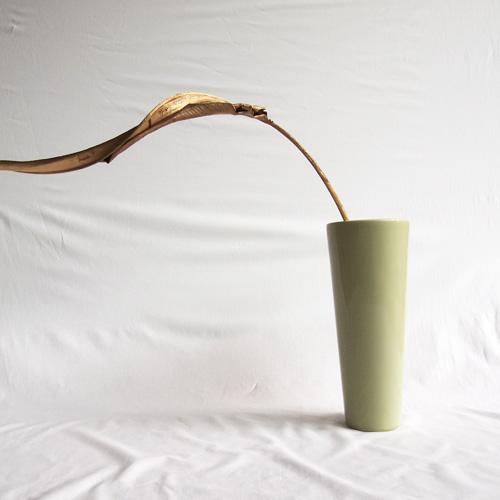 Funnel shaped vase