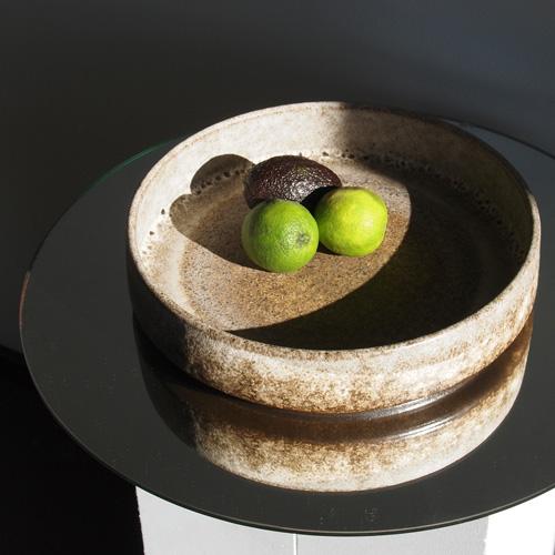 Brown toned bowl