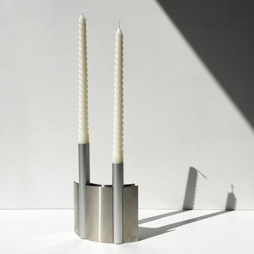 Futuristic candleholder