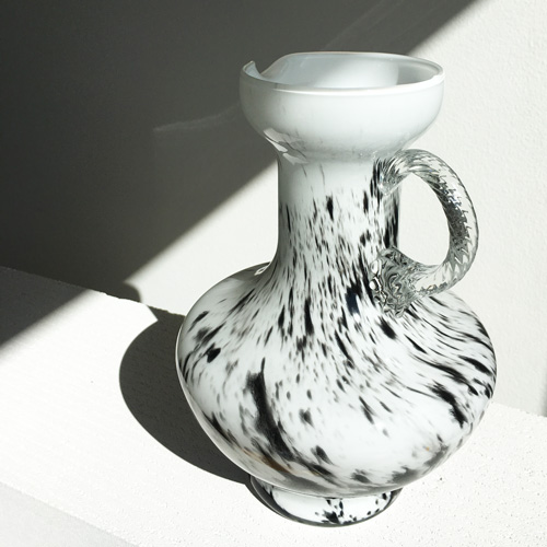 Sophisticated glass jug