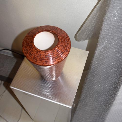 Rusty vase/bonbonniere