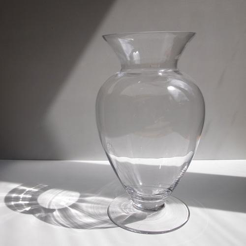 Enkel glasvase