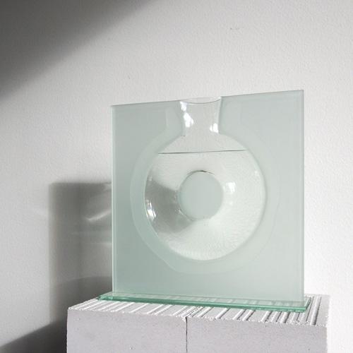 Kvadratisk glaskunst