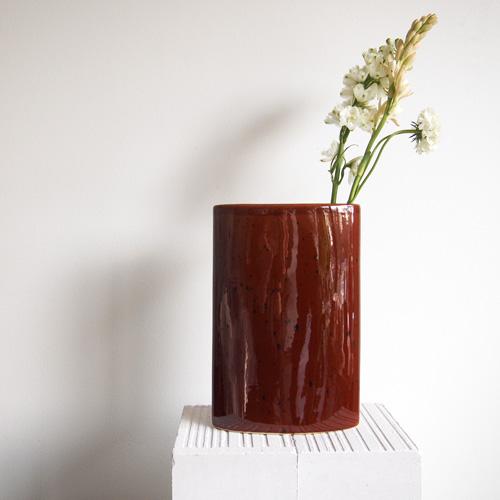 Brunnistret vase, II